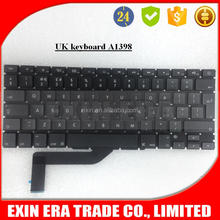 "Brand New Original For Macbook Pro Retina 15"" A1398 Keyboard UK MC975 MC976 2012"