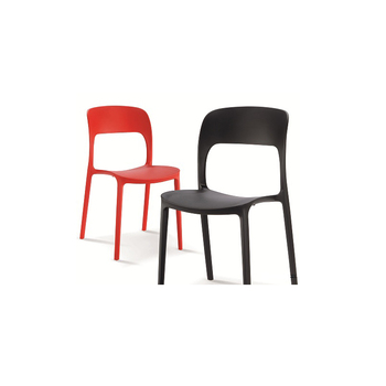 Modern Italian Design Unfolding Commercial Kindergarten Furniture Starkable Plastic  Chair
