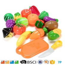 Kitchen Toys Fun Cutting Fruits Vegetables Pretend Food Playset for Children Girls Boys Educational toy