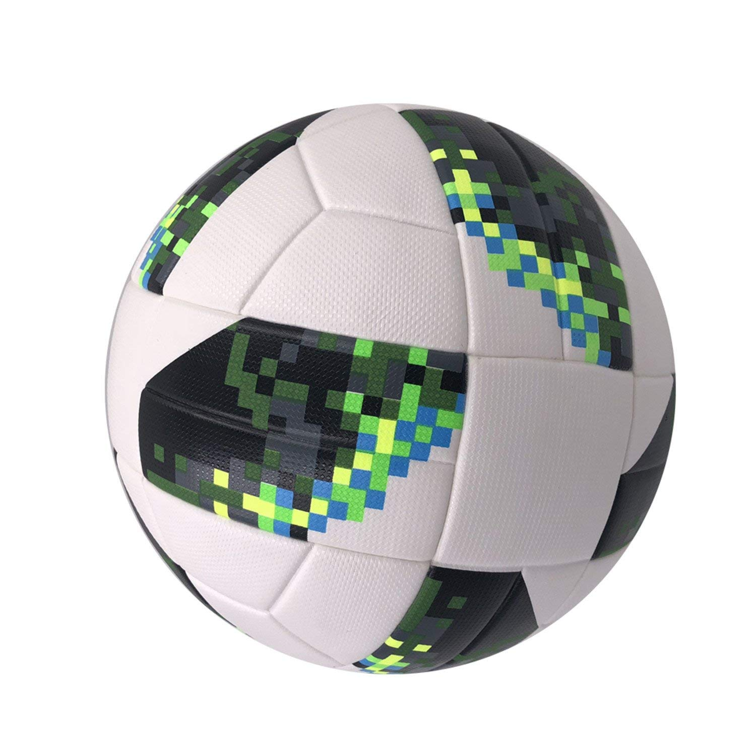 Get Quotations · Nelliewins Premier Pu Football Official Soccer Ball Size 5 Football  League Champions 2018 Sports Training Ball 506bf9fa70c4c