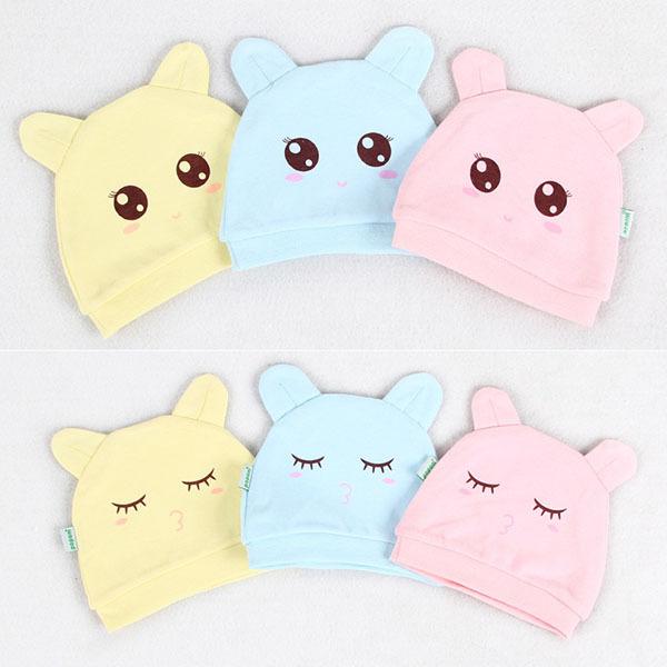 Newest Infant Children Cotton Soft Cartoon Hat Kids Baby Boy Girl Toddler Cute Hat CapZQ1