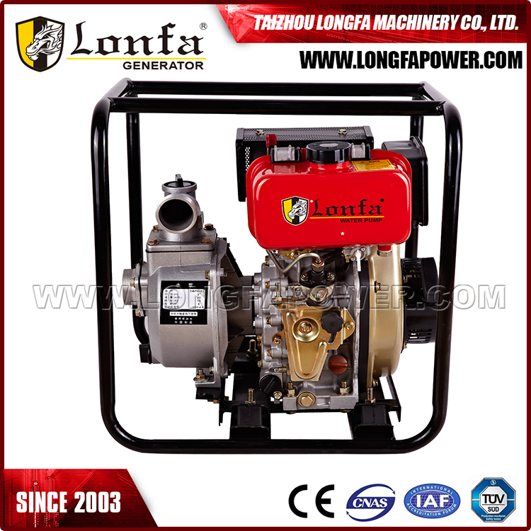 Portable 2inch 170F diesel engine diesel water pump set price