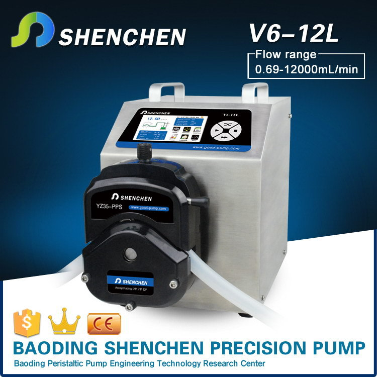 Chemical dosing peristaltic pumps,knob speed control brand pump for grease,sprayer easy-load tranfering pump