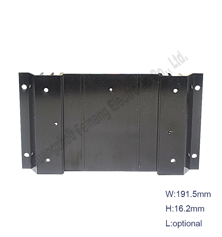 aluminium extrusion case metal sheet enclosure junction mount box factory