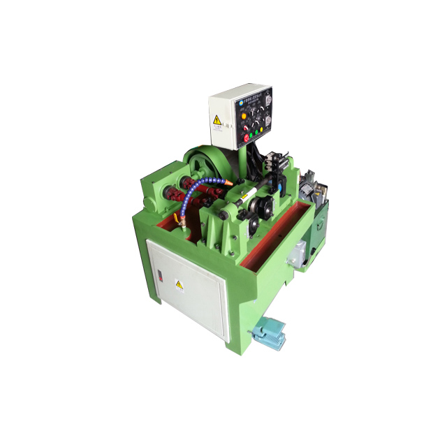 Bolt Rod High Speed Thread Rolling Machine FR-20*30Portable rebar head roll threading machine