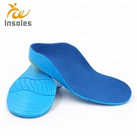PU Corrective Insole Children's Flat Foot Inside Outside Eight-shaped Orthopedic Insoles Foot Internal External Valgus Orthosis