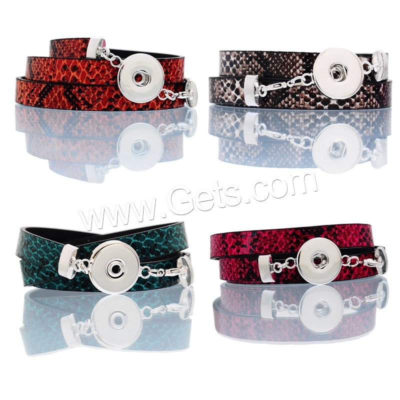 Zinc Alloy jewelry Chunck tai jewelry button bracelets