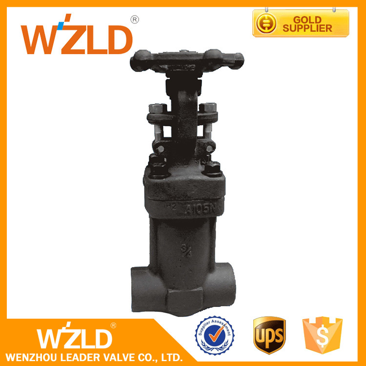 WZLD 1/4 Inch, Bonnet Bolted API 602,API 602 Rising Stem Forged Steel Gate Valve