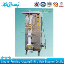 Manufacture top-quality drink water plastic bag water filling