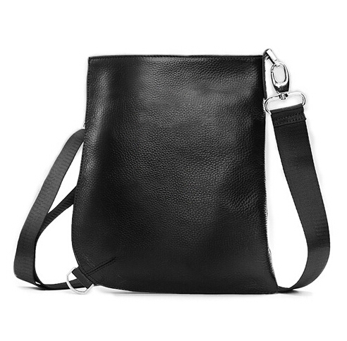 5dc6b14de7 Get Quotations · imported Italian100% leather advanced Messenger handbags men  bags