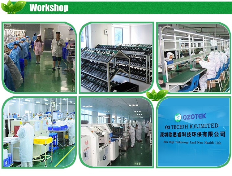 OZOTEK kitchen or bathroom ozone water purifier and ECO laundry washer washing machine ozone generator disinfection system