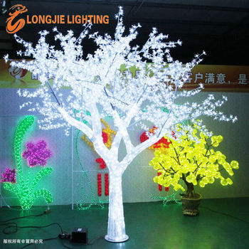 Ip65 Illumination Decorative Outdoor Led Flower Tree Lights White Lighting Cherry Sold By Manufacturer Decoration Light