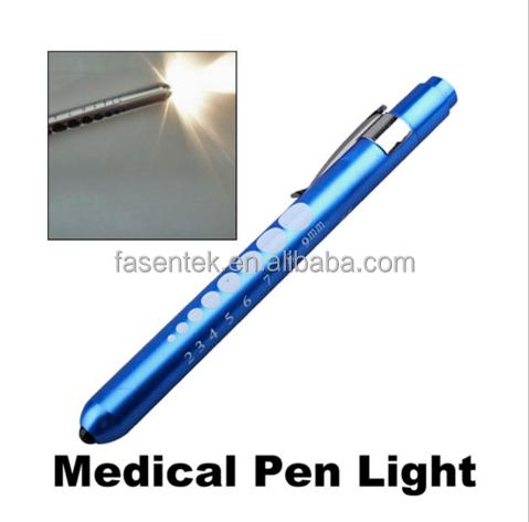 2X Medical First Aid Doctor Nurse LED Pen Light Lamp Flashlight Torch Emergency