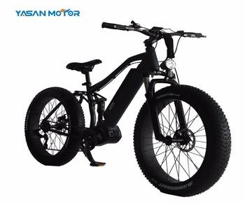 Powerful 48v 1000w Fat Tire Ebike Mountain Electric Bike