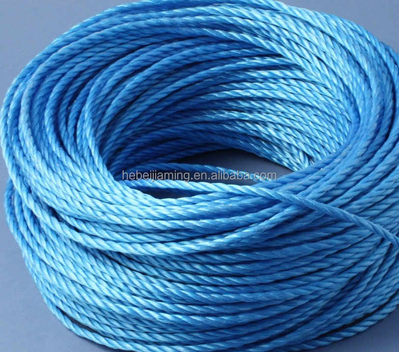 Low Price 3 Ply PE Twisted Rope Twine