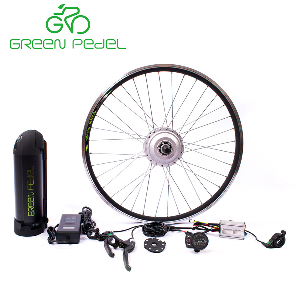 GreenPedel top quality CE certificate 36V 48v 250w 350w cargo motor tricycle electric conversion kit