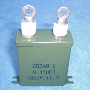 Metal Can Oil Type 0.47UF 1000V Capacitor For AC Circuits in radio and Electronic Equipment