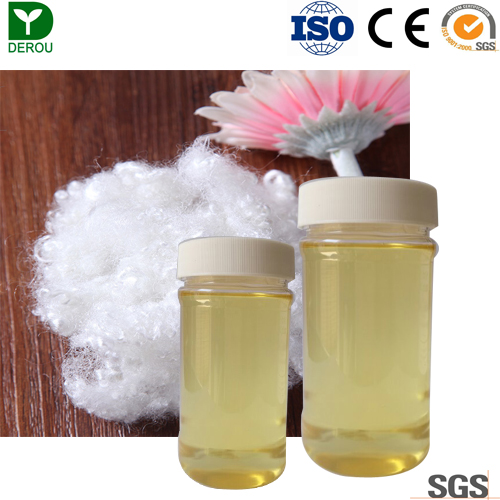 High concentration smooth and Fluffy Block Silicone Oil for hollow polyester Fiber DR-9765