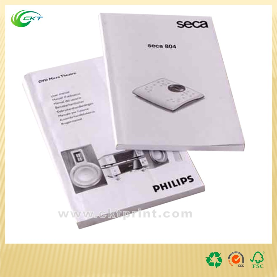 Top quality customized print promotion softcover book print with competitive price.