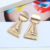 Jewelry of The Day Zinc Alloy Chic Design Women Exaggerated Earrings