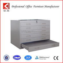 Office Furniture Steel Map Paper Cabinet / Storage Drawing Cabinet from LuoYang