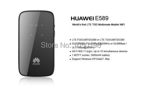 100% Original Unlock LTE HUAWEI GL01P 4G Wireless Router And Mobile WiFi  Hotspot like E589
