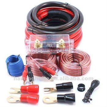 quantum audio 0 awg gauge amplifier car installation wiring kit amp rh alibaba com