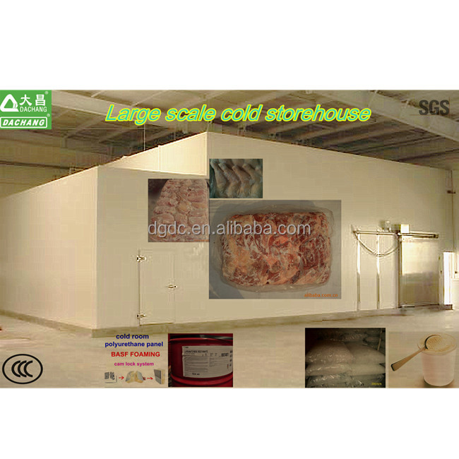 Large scale cold store house