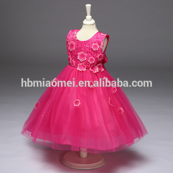 fa1a8a854 Wholesale 2 3 4 5 6 7 Year Old Girl Dress 2017 Baby Girl Party Dress ...