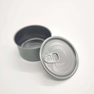 High Quality Food Grade Tin Can with Easy Open Lid