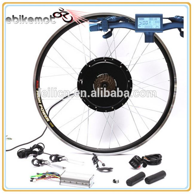 48V 1000W Electric Bicycle cheap Bike Conversion Kits Parts 1000W E-Cycle Ebike Fat Tire Wheel Kit