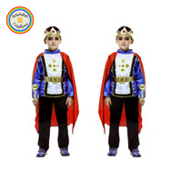 JHTL075 RDT Halloween Stage Performance Kids Prince Cosplay Costume Masquerade Party Children's Day King Boy Costume