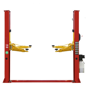 Car hoist 2 post car lift low ceiling with manual lock