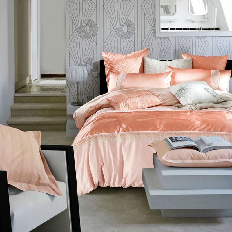 solid orange comforter promotion shop for promotional solid orange comforter on. Black Bedroom Furniture Sets. Home Design Ideas