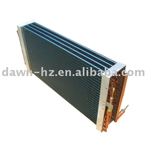 Evaporator for Train Air Conditioner copper tube alumium fin
