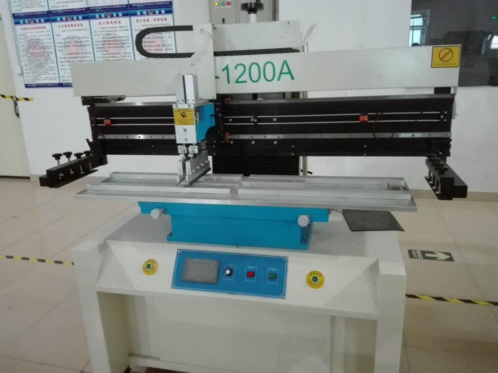 Automatic solder paste printing equipment and machines of 1200A