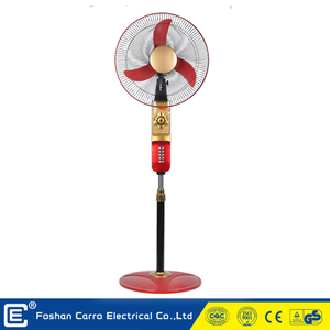 1 year warranty 12volt national electric stand fan DC-12V16H2