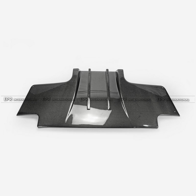 For Skyline R33 GTR Top-Secret Type 2 Carbon fiber Rear Diffuser w Metal Fitting Accessories (3pcs)