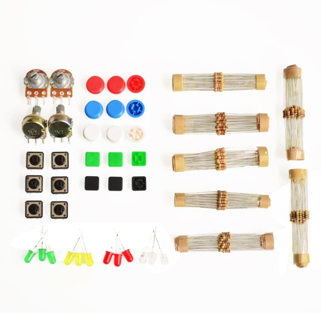 Cheap Ic Tact Switch Find Deals On Line At Alibabacom Get Quotations Quentacy 1 Sets Handy Portable Resistor Kit For Arduino Starter Uno R3 Led Potentiometer
