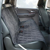 Quilt Suede Car Seat Cover for plastic rubber fixed