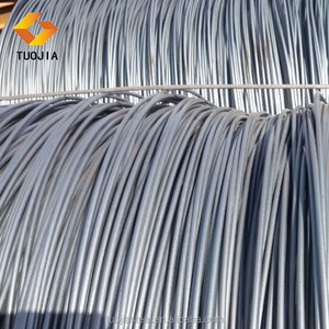 SAE1008 steel wire rod carbon iron rod hot rolled 6.5 mm wire price for big stock quantity