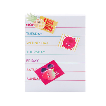 picture relating to Cute Weekly Planner identified as Lovely Style and design Magnetic Weekly Planner White Board - Acquire White Board,Planner White Board,Weekly Planner Merchandise upon