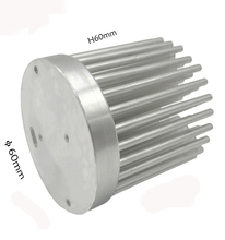 10W High Power Led Radiator,Aluminum Circular Led Passive Heatsink 60Mm,Aluminium Alloy Heat Sink