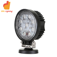 2018 OEM Factory price !Led Work Light 24v 27w off road car part 2025lumens 12v work lamp