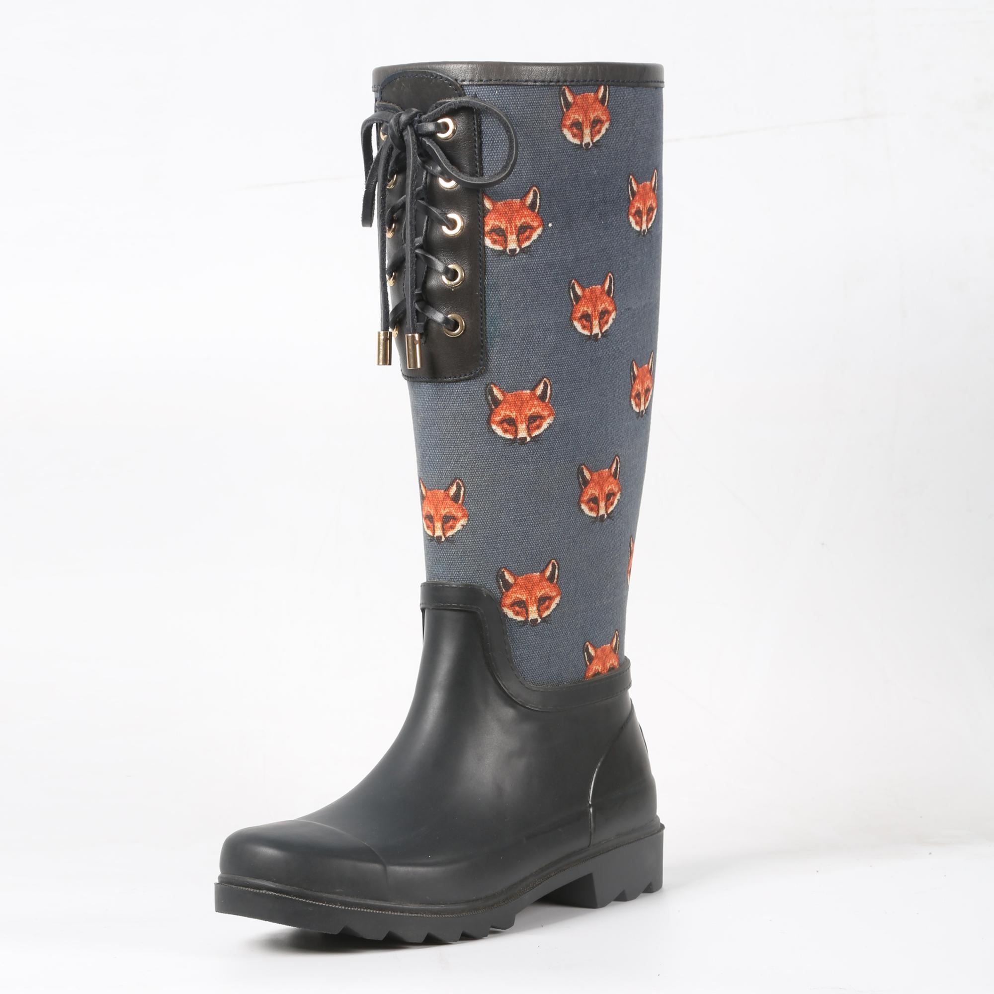 Spring Summer Rain Boot Women Rubber