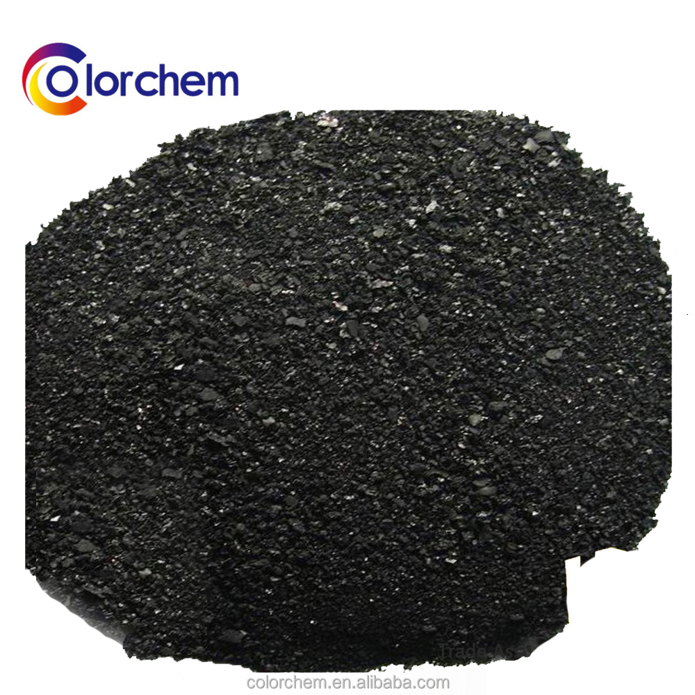 High Quality Insoluble Sulphur Black Dyes For Textile