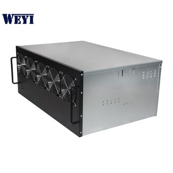New arrival 6U 13GPU version rack ethereum mining rig server case GPU  chassis for sale, View mining rig ethereum, OEM Brand Product Details from