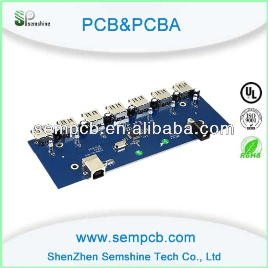 Custom Usb Hub Pcb Printed Circuit Board Assembly Service Buy Electronic Boardboard Hubcircuit Port List Manufacturers Of Sound Sensible