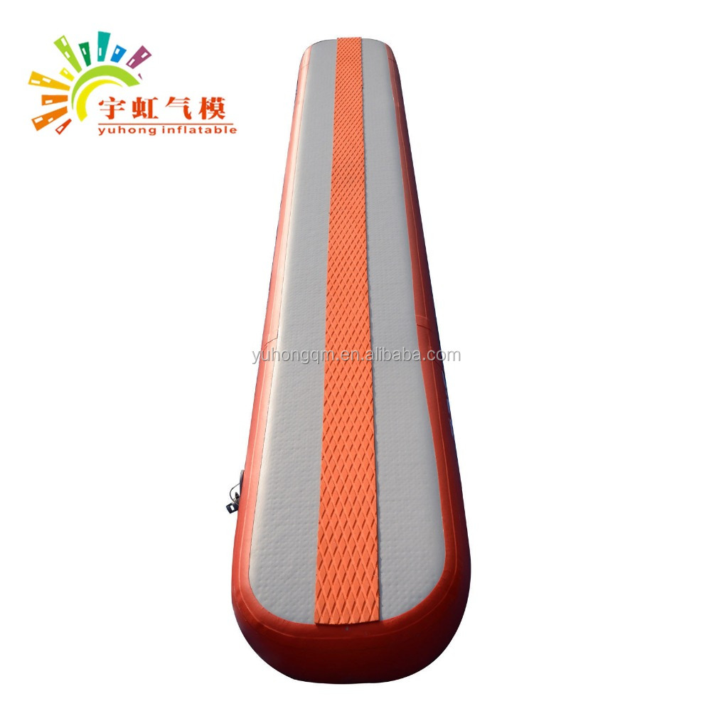 Gymnastics Air Balance Beam inflatable Practice Training Mat For Tumbling Track