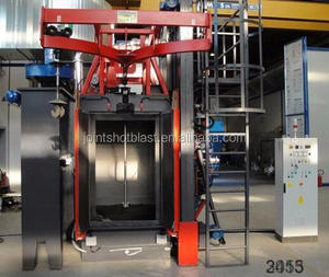 q37 double door spinning hang shot blasting equipment